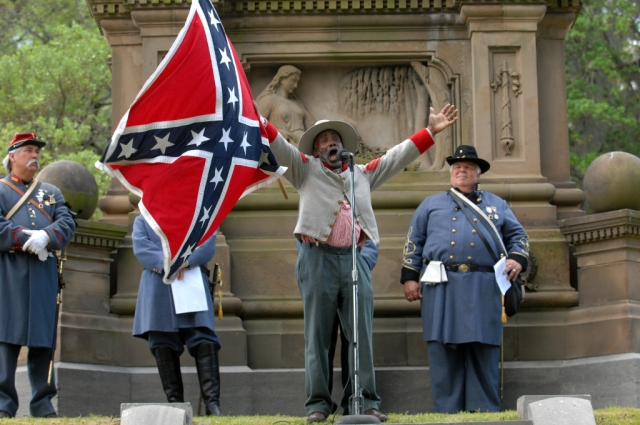 H. K. Edgerton, a native of Asheville, North Carolina, is an Uncle Ruckus with no grounding knowledge of accurate history