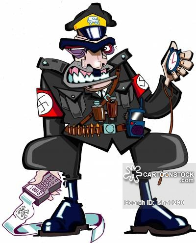 Nazi Traffic Warden.